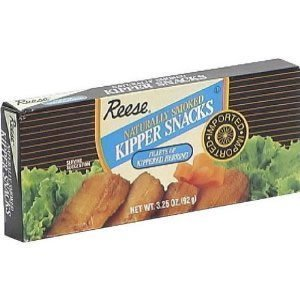 Reese Naturally Smoked Kipper Snacks, 3.25 Ounce (Pack of...