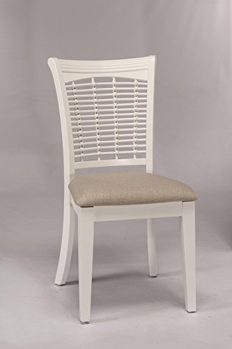 Hillsdale Furniture Dining Chair in White Finish - Set of 2