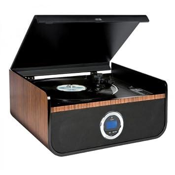 Dual Vintage TD 1968 - Tocadiscos con puerto USB y reproductor de ...