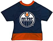 All Star Dogs 660845802179 NHL Edmonton Oilers Dog Jersey Size Small, Blue