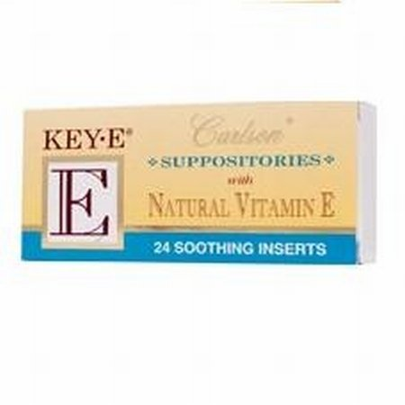 Carlson Key-e suppositoires, 24-Pack