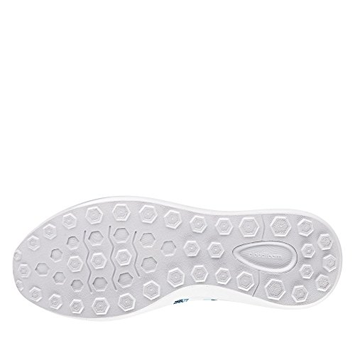 adidas Cloudfoam Race W, Sneaker a Collo Basso Donna, Blu (Agucla/Ftwbla/Maruni), 40 EU