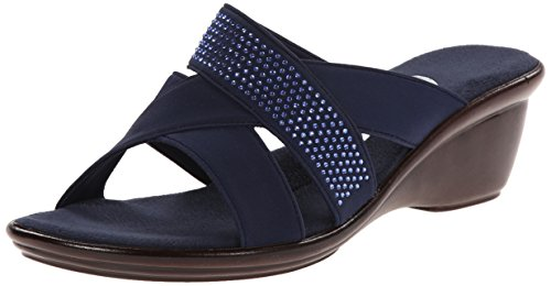 Onex Women's Ariel Wedge Sandal Navy clearance sneakernews cheap sale hot sale free shipping 9mbaslGbL
