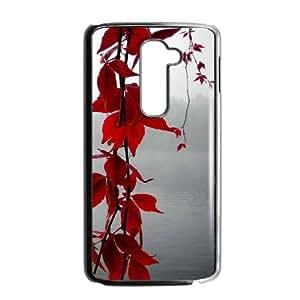 LG G2 Cell Phone Case Black Maple Tree Branch D464098