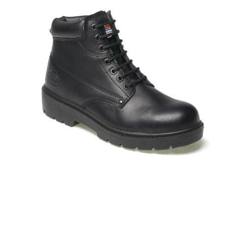 Antrim black leather hd safety boots s44 P7PIw