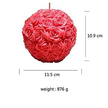 Molde de jabón con forma de bola para vela, diseño de bola ...