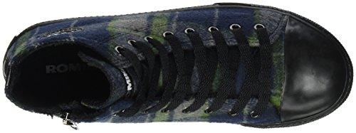 Romika Unisex-Erwachsene Soling 07 Hohe Sneaker Mehrfarbig (Mint-Multi (612))