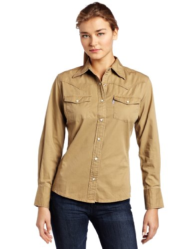 Amazon.com: Carhartt Women's Work Wash Twill Snap Front Shirt ...