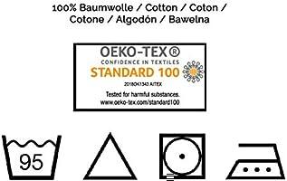 Zollner 10 muselinas para bebé, algodón 100%, 80x80 cm, blancas ...