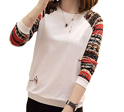 Long-Sleeved t-Shirt Female Loose Autumn Women's Clothing Au