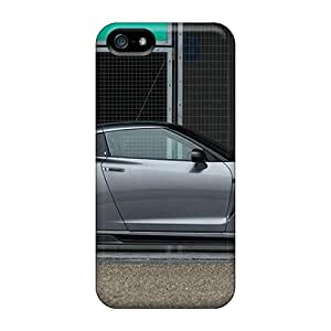 Rugged Skin Case Cover For Iphone 5/5s- Eco-friendly Packaging(2010 Tommy Kaiya Nissan Gtr R35)