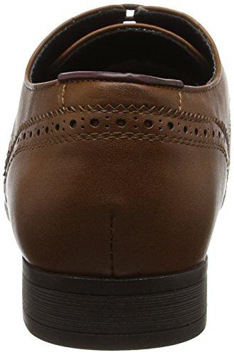 Redford Uomo Scarpe Menswear Burton London Stringate Tan Brown Brouge 1EgHnq