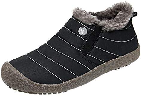 QUICKLYLY Botas De Nieve Mujer,Botines para Adulto,Zapatillas/Zapatos De Invierno Calzado De Algodón Impermeables De Terciopelo Más De Felpa