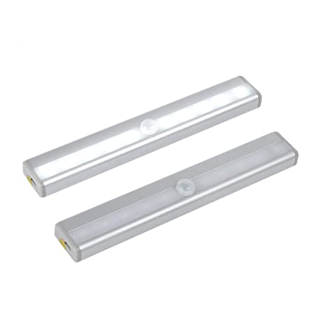 v-shopkeeper LED Sensor de movimiento luces de armario, gabinete luz, DIY stick