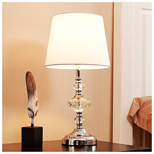 POPILION Elegant Exquisite Artistic Decorative Economic Crystal Table Lamp,Value For Money