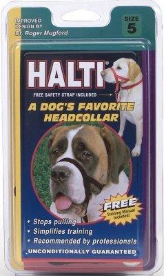 Holt Head Collar Black Size 5