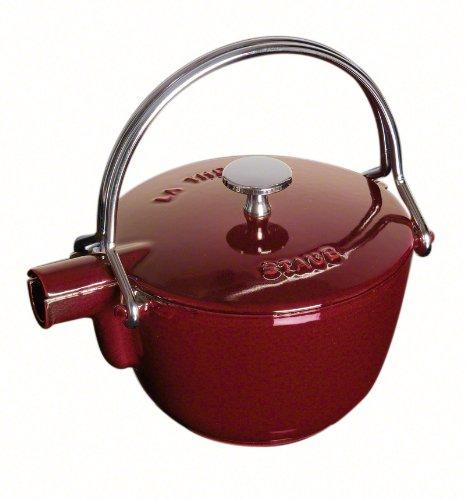 Staub La Theiere Teapot 1-quart Grenadine