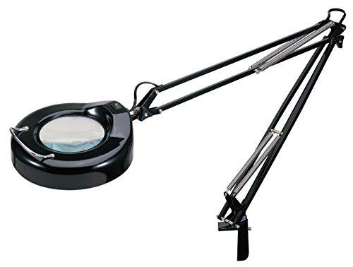V-LIGHT Magnifying Lamp Task Lamp, Black (VS103B5)