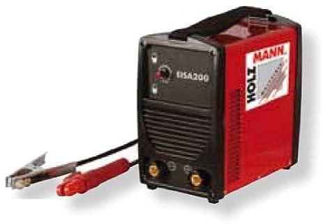 Madera de hombre de electrodos Inverter de soldadura sistema EISA200: Amazon.es: Bricolaje y herramientas
