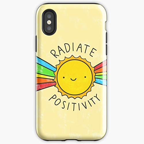 Glowing For All Iphone Sun Radiate Positivity Positive Quote Apocalypse Phone Case Glass Samsung Galaxy-miniot