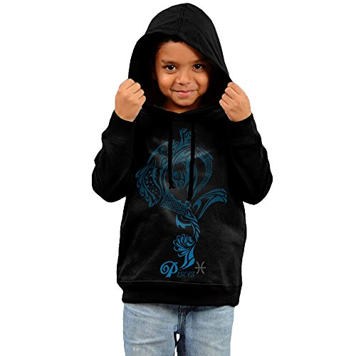 Toddler Pisces Zodiac Sign Cool Hoodies Unisex -