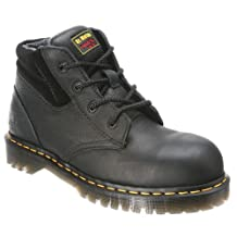 Dr. Martens Men's 7B09 Steel Toe Boots