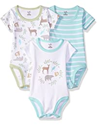 Baby Girls' Organic Cotton Bodysuits