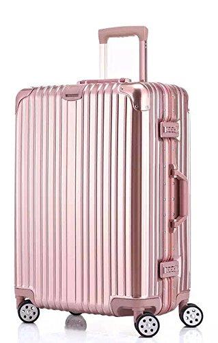 "Bella Nova Aluminum Frame Suitcase TSA Approved Suitcase (28"", Ferrari Red) Review"