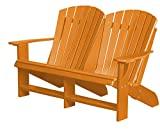 Wildridge Outdoor Recycled Plastic Heritage Adirondack Bench - Ships in 10-14 Business Days