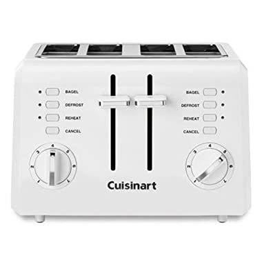 Cuisinart CPT-142 Compact 4-Slice Toaster, White