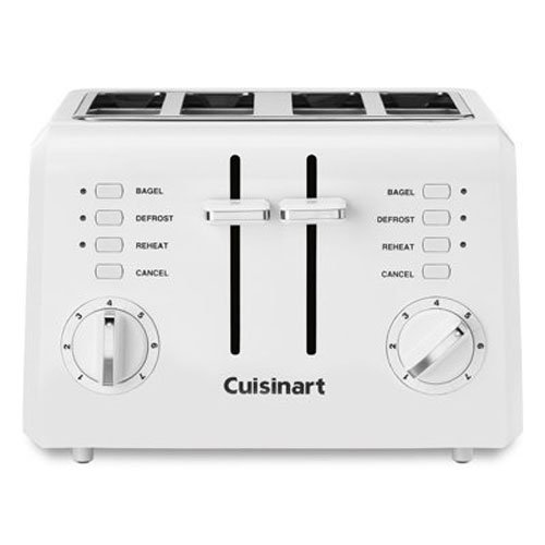Cuisinart CPT-142 Compact 4-Slice Toaster (4 Slice White Toaster)