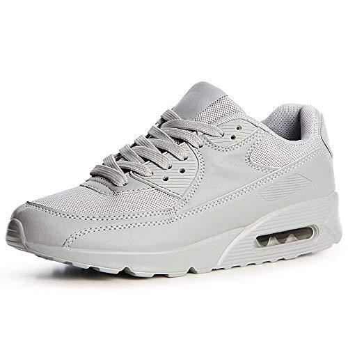 Gris Chaussures Topschuhe24 Sport Femmes De Sneaker 5TwqAXw