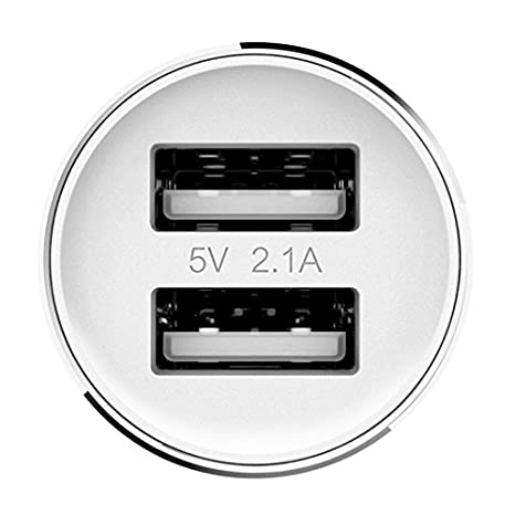 Cargador de coche Transmisor FM original Xiaomi ROIDMI 5V 3.1A Bluetooth V4.0, Blanco: Amazon.es: Electrónica