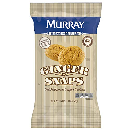 (Murray Cookies, Old Fashioned Ginger Snaps, 16 oz Bag)