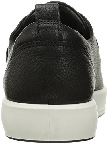 Marron Homme 8 Men's Basses Baskets Ecco 1001black Soft Noir R7qXY