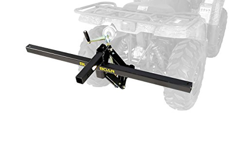 Black Boar ATV/UTV, Manually Lift and Lower Implements with Handle or Actuate Using a Drill and Socket - Lift Plow