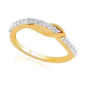 Giantti Women's 14KT Diamond Ring - IGL Certified (0.19 Ct, I1 Clarity, GH-Colour)