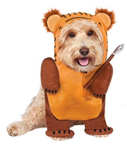 Rubies Costume Star Wars Running Ewok Pet Costume, Medium