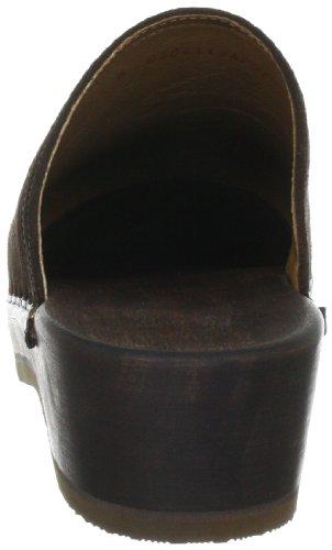 Berkemann Velours-Toeffler Unisex-Erwachsene Clogs Braun (Braun)