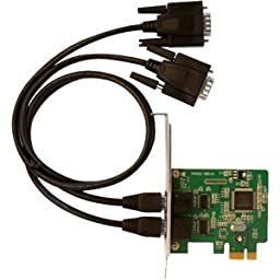 SIIG 2-Port Industrial PCI Adapter Card ID-E20111-S1