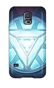 OmsTzVS970uQoVO Faddish Iron Man Heart Case Cover For Galaxy S5