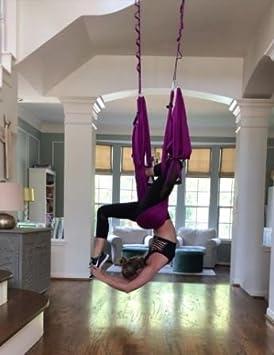 Amazon.com: Trapeze para yoga, columpio de yoga, hamaca de ...