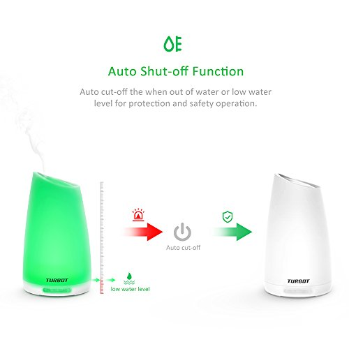 Turbot Aromatherapy Essential Oil Diffuser Aroma Ultrasonic Import It All