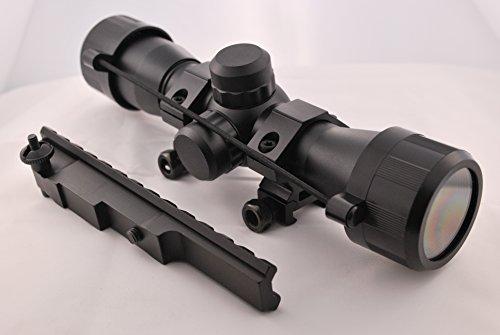 محدوده جمع و جور Tactical 4x32 US-Deal با رتیک فایرفاکس و اسکوپ اسکوپ اسکوپ اسکوپ مخصوص Mauser K98