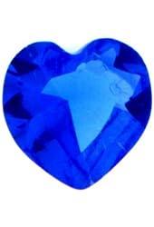 September Crystal Heart Birth Month Floating Locket Charm