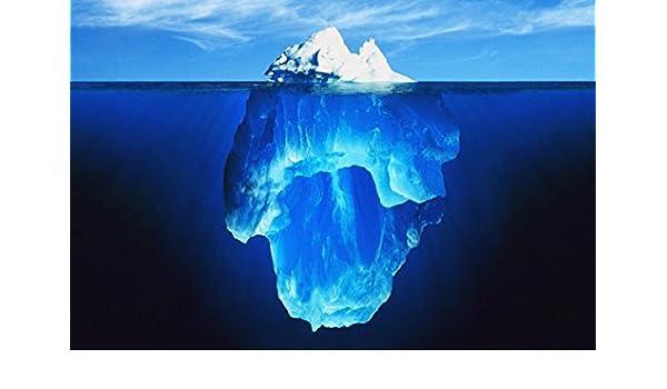 Image result for iceberg under water