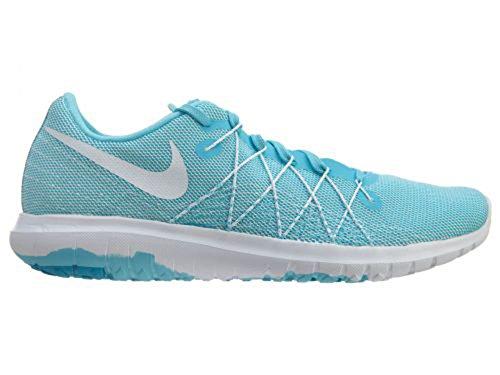 Nike Flex Fury 2 Bianco / Gamma Blu Donna 10.5