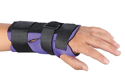 Pediatric Wrist Brace (Sammons Preston Breathoprene Pediatric Wrist Splint, Left, Small, Orthopedic Support Brace for Tendonitis, Inflammation, Carpal Tunnel, Thumb Injuries & Pain, Breathable & Comfortable Compression)