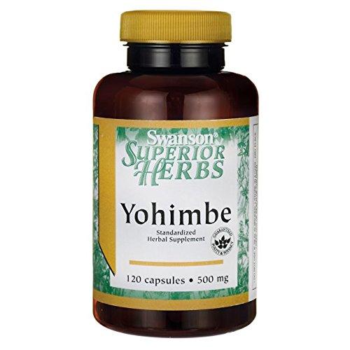 Yohimbe 500 mg 120 Caps