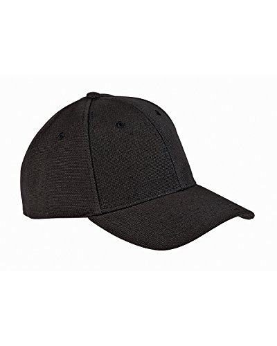 Hemp Baseball Hat - ECON HEMP BASEBALL CAP (BLACK) (OS)